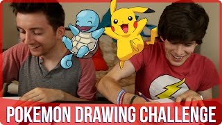 Pokemon Drawing Battle w/ Liam Dryden