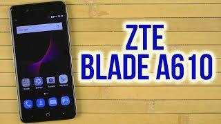 распаковка ZTE Blade A610 Grey