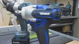 Аккумуляторный гайковерт TENWA 21V копия Макиты DTW281. Любительский обзор.