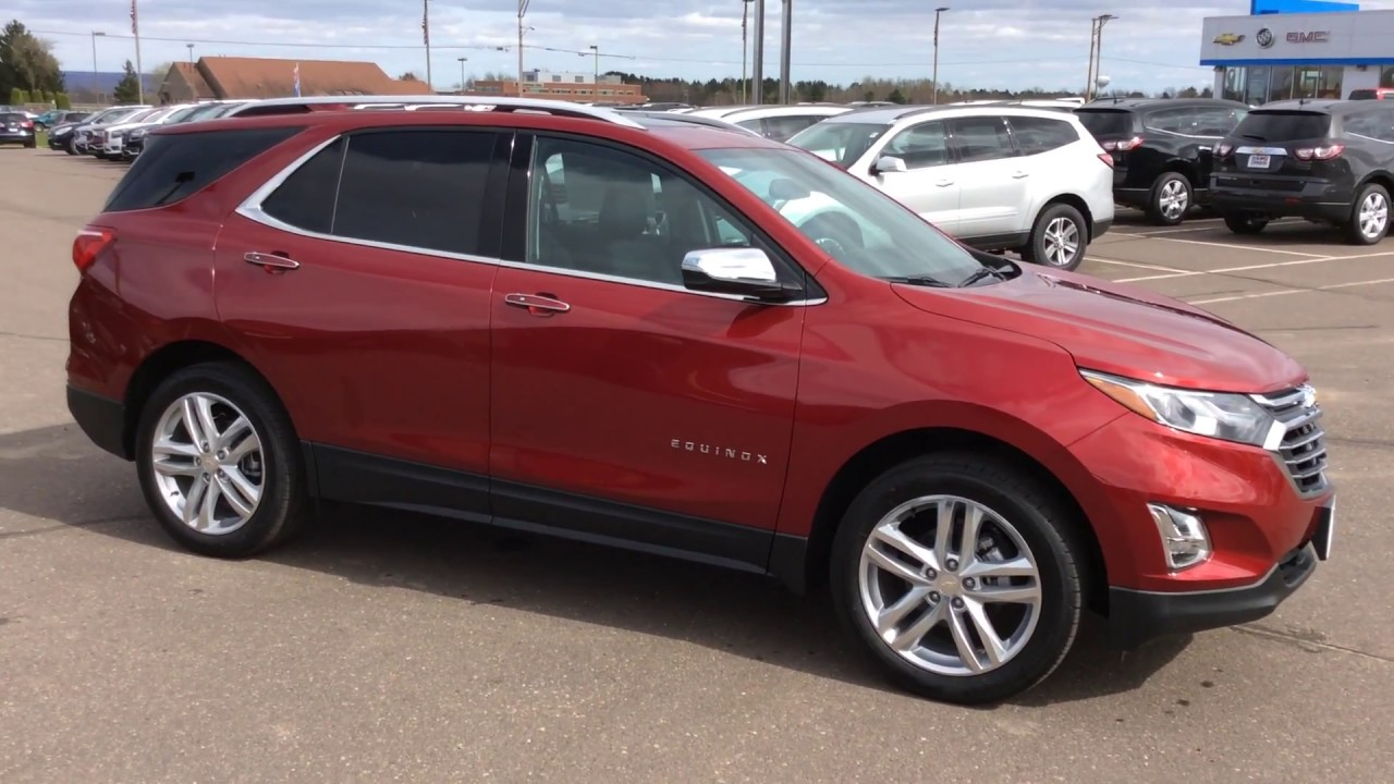2018 Chevrolet Equinox Premier Awd At Don Johnson Motors