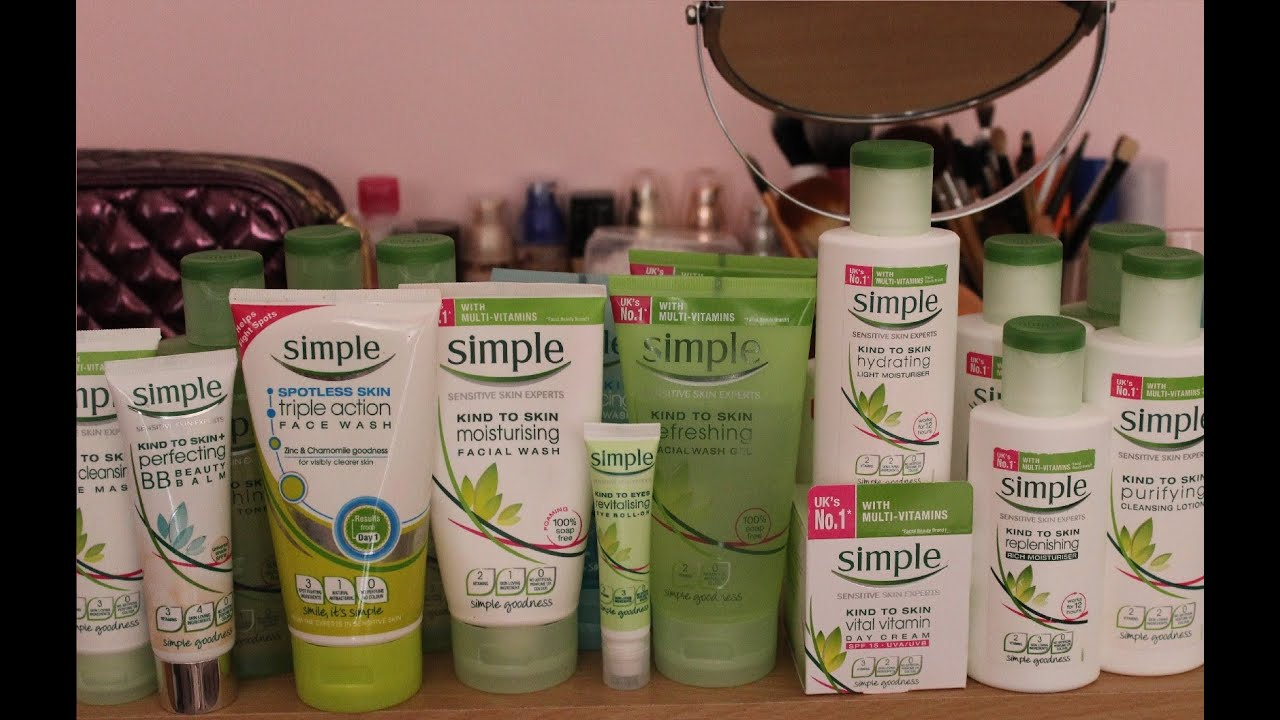 Simple Products simple skincare review
