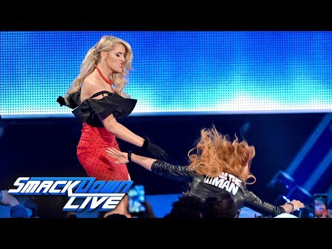 Lacey Evans once again attacks Becky Lynch: SmackDown LIVE, April 9, 2019
