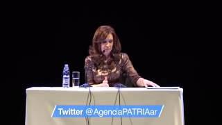 Cristina Kirchner le hablo a dirigentes y militantes en el ND Ateneo [Parte 1]