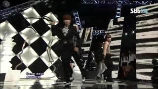 U-KISS [Intro + Stop Girl] @SBS Inkigayo 인기가요 20120923