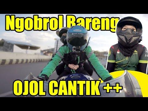 Bonceng Ojol Cantik++ Dari Lampung | Bro Omen