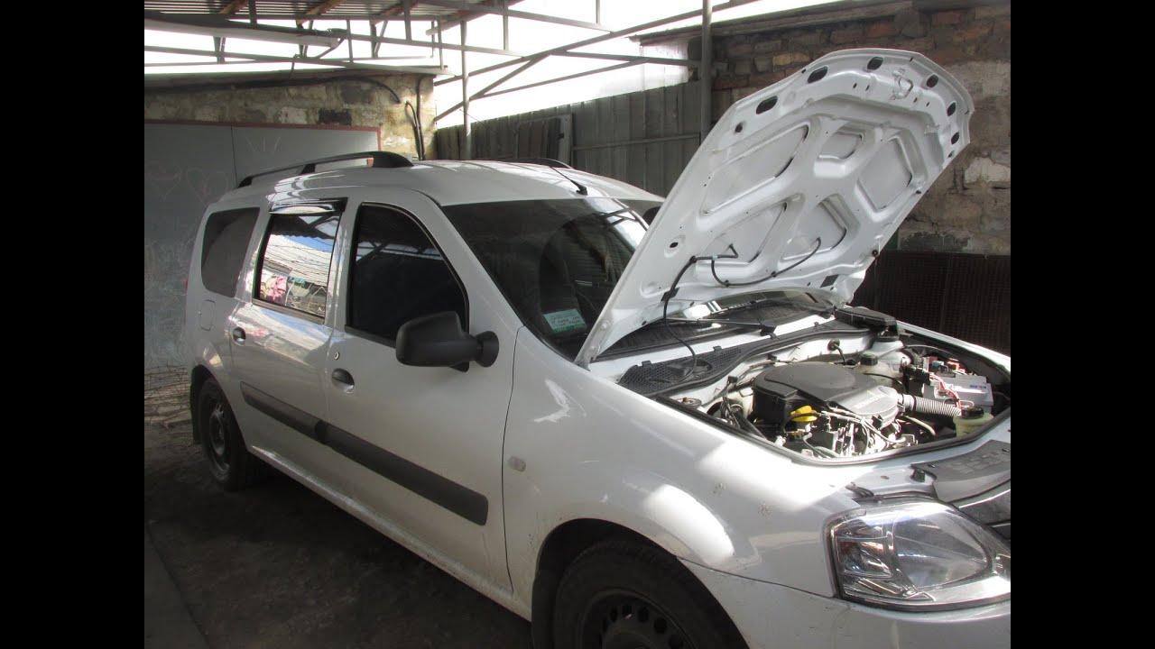 Работа авто на газу