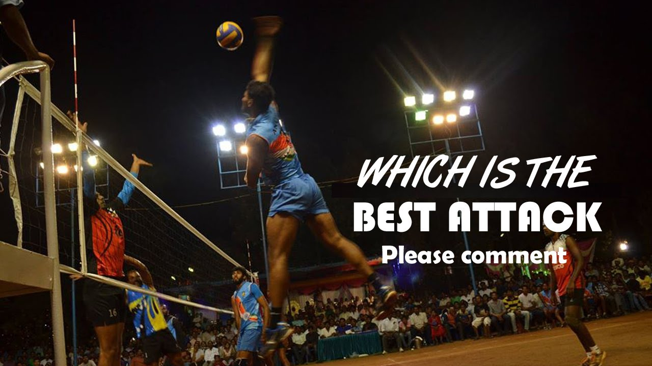 WHICH IS THE BEST ATTACK | PLEASE COMMENT | BEST VOLLEYBALL ATTACKS .