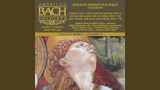 Liebster Gott, wenn werd ich sterben, BWV 8 3. Recitative: Zwar fühlt mein schwaches Herz