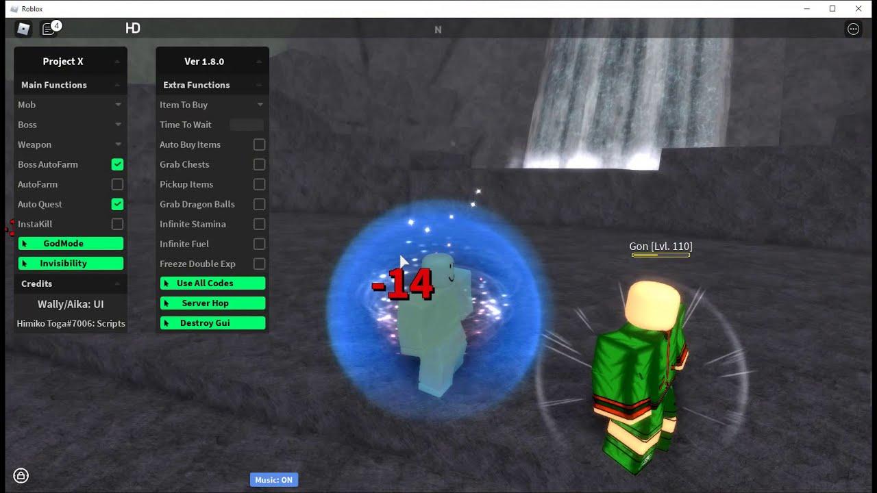Roblox Project X Script Hack Autofarm Autoquest Auto Chest And