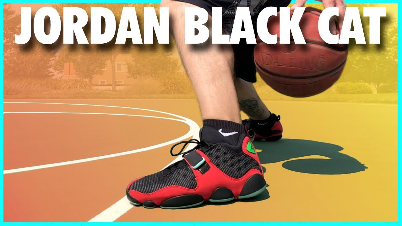 brand new 4bda2 81adb AIR JORDAN BLACK CAT (AIR JORDAN 13 'TINKER') | REVIEW
