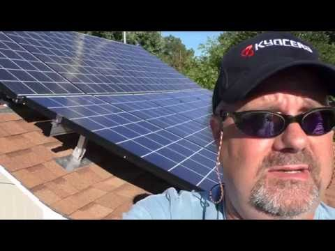 Solar And Wind Home Power 12 kWh Power Bill  May 2016 BY KVUSMC