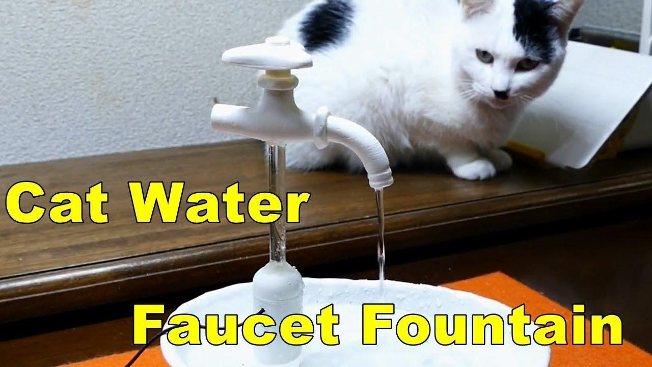 5 diy 3dprinted magic cat water faucet fountain youtube for Diy cat water fountain