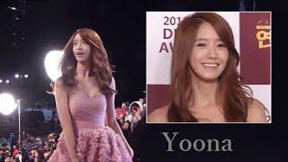1080p [SNSD] Yoona (Girls' Generation) 少女時代 - 2012 KBS Drama Awards (121231)