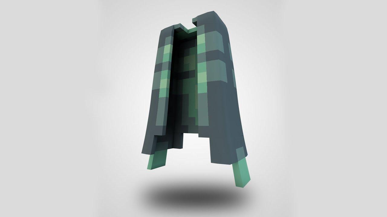 Minecraft Jacket Tutorial in Cinema 8D (+Free Jacket Rig)