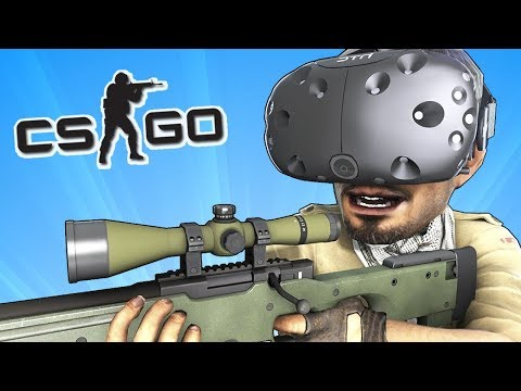 CS:GO в VR (ВИРТУАЛЬНАЯ РЕАЛЬНОСТЬ)