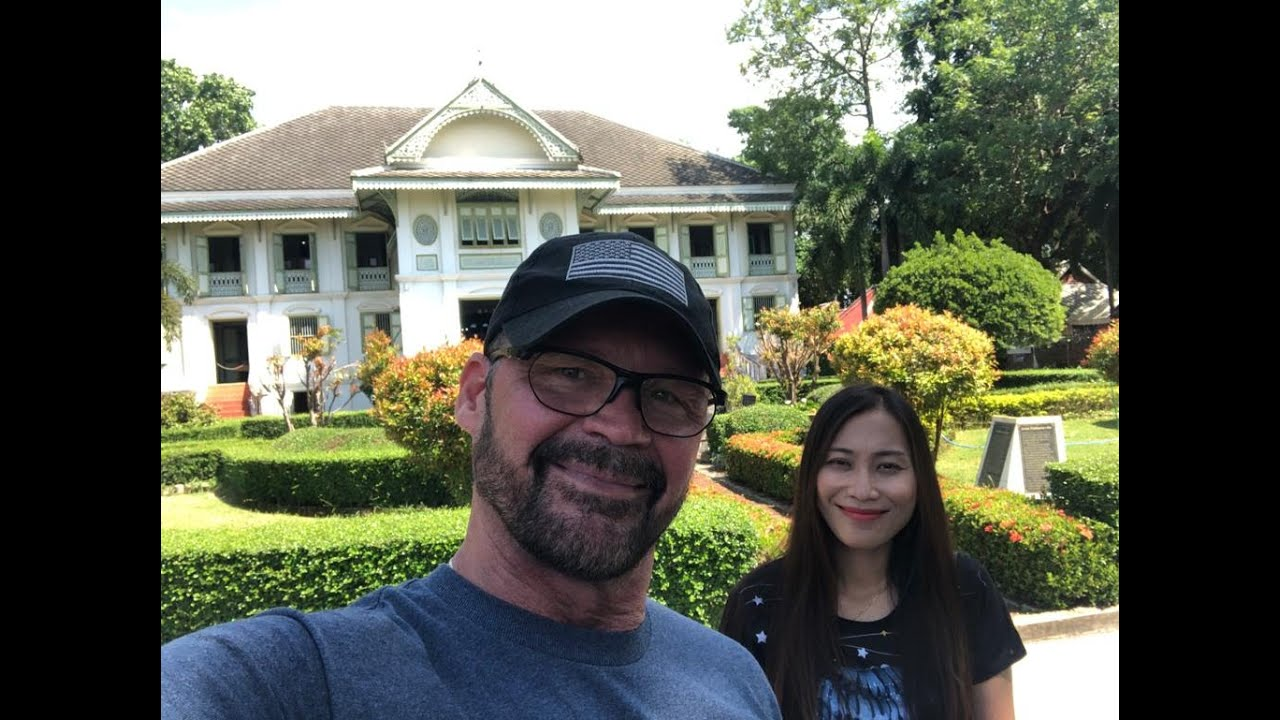 One Overnight In Phrae On Our way To Chiang Khan Thailand