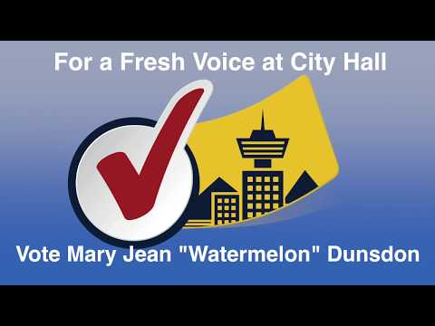 SensibleVancouver: Mary Jean Dunsdon @Vancouver Council of Women