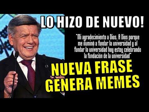 NUEVA FRASE DE CESAR ACUÑA GENERA LOS MAS DIVERTIDOS MEMES