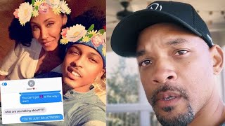 August Alsina Admits That Him & Jada Pinkett Smith Had An Affair But Will Smith Knew About It!!
