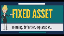 Fixed Asset Accounting For Dummies