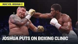 How Anthony Joshua Defeated Andy Ruiz In Rematch