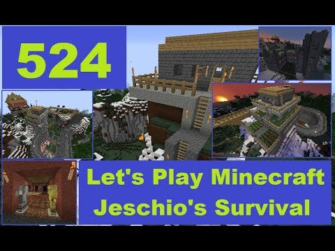 Lets Play Minecraft - Jeschios Survival #524 - Livestream von Twitch