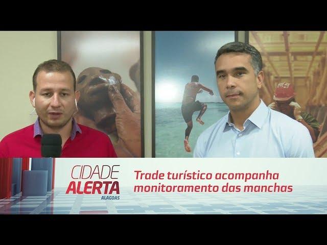 Trade turístico acompanha monitoramento das manchas de petróleo nas praias