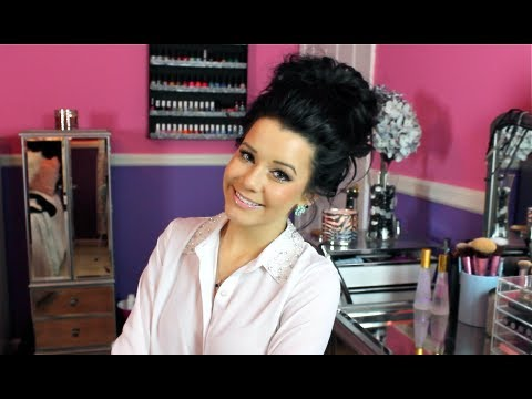 Hair Tutorial My Messy Bun Youtube