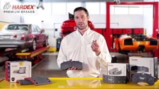 HARDEX® Premium Commercial Brake Pads Series