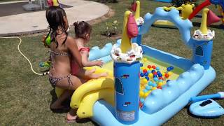 Playground with Pools for Kids - INTEX Fantasy Castle Play Center