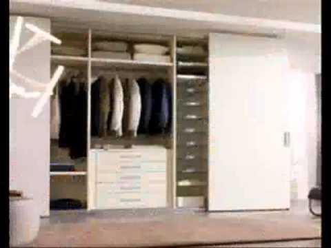 Closets modernos youtube for Closet modernos para hombres