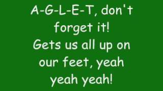Phineas And Ferb A G L E T Lyrics Full Song Hq Youtube