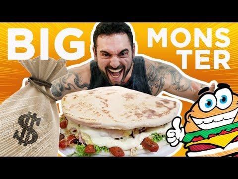 Desafio #41 - Big Monster Fortaleza valendo R$3000 (4.6kg + 1 litro, 16900kcal)