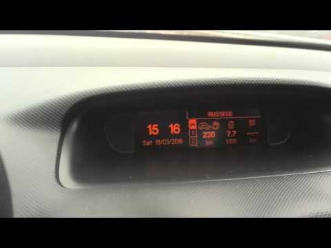 Расход топлива Peugeot 308 1.6 turbo 130km/h