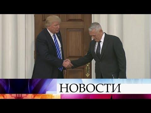 В США активно обсуждают отставку главы Пентагона.