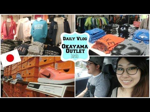 Daily vlog: Japão - comprando roupas no Outlet, trocando de carro, Okayama
