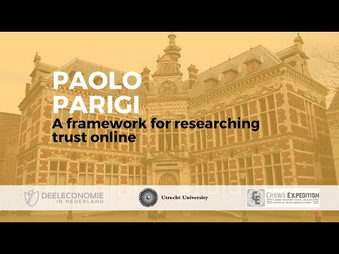 Paolo Parigi: A framework for researching trust online