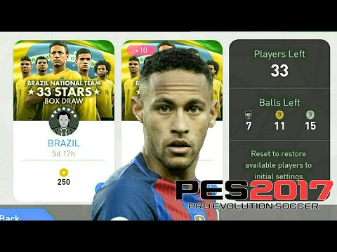 33 STARS Openning 2000 coin PES 2017 Android Gameplay #65