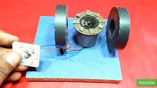 how to make free energy generator with magnet light bulb 100% free energy new technology