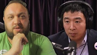 I Watched Andrew Yang on the Joe Rogan Experience Podcast So You Don't Have to | The Rewired Soul