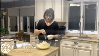 Chanukah Cooking with Local Foodie Leah Todres