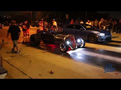 Rat Rod Twin Turbo Nitrous vs HellCat
