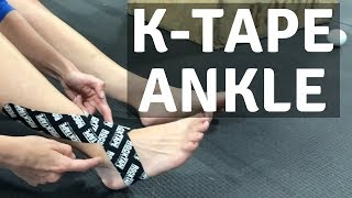 Sprained Ankle? Speed Up Recovery with Kinesio Tape