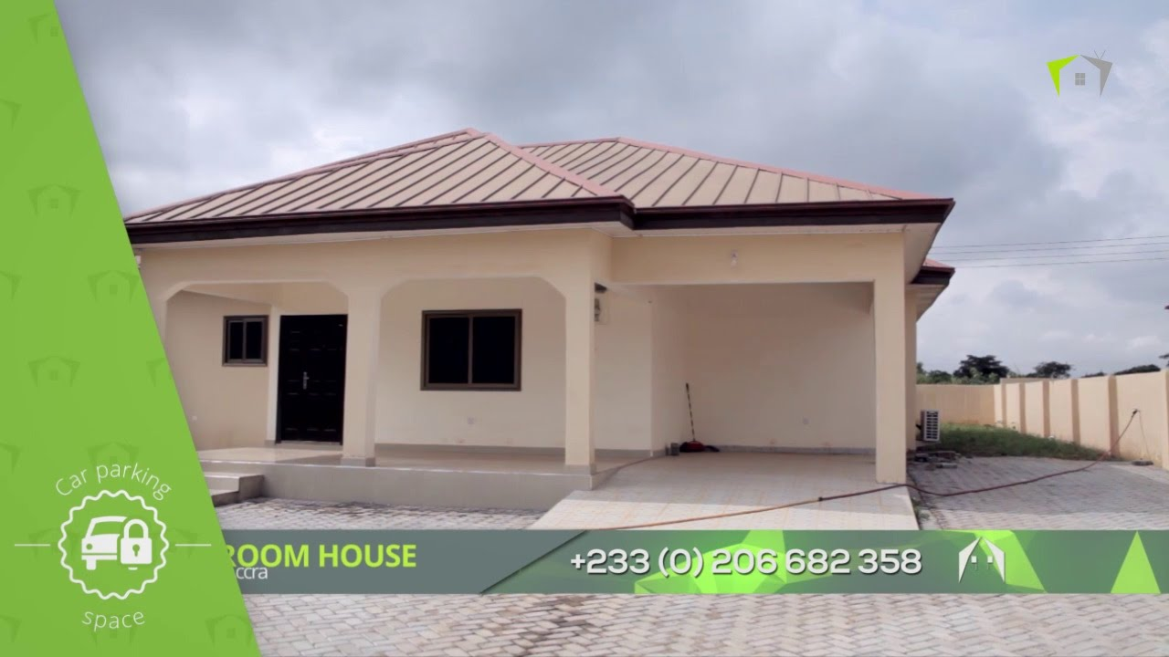 3 bedroom house malejor accra youtube - Three Bedroom House