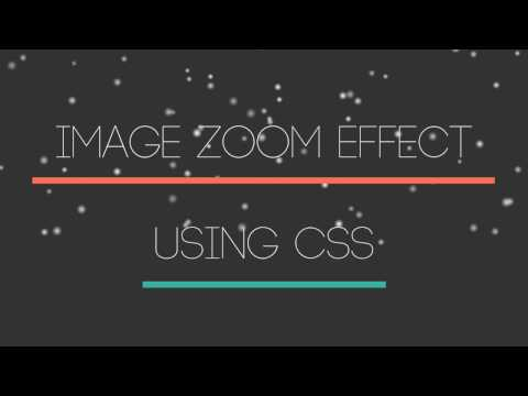 Image Zoom Effect | CSS - TheMindSpeaks