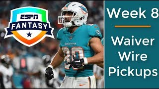 Week 8 Waiver Wire Targets | 2018 Fantasy Football