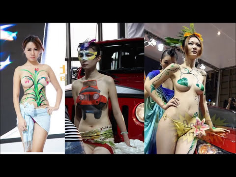【衝撃映像】中国のモーターショーのキャンギャルが過激すぎてヤバイWWW