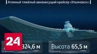 Проект Авианосец. Специальный репортаж Артема Потемина(Подпишитесь на канал Россия24: https://www.youtube.com/c/russia24tv?sub_confirmation=1 Авианесущий крейсер