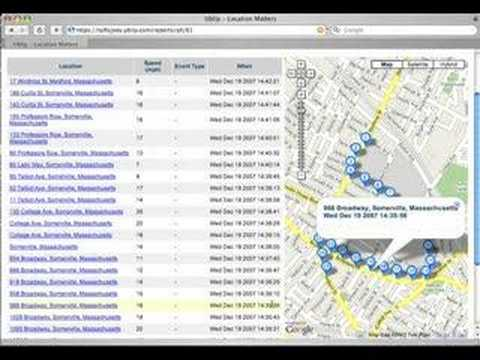 GPS Bus Tracking with Tufts University