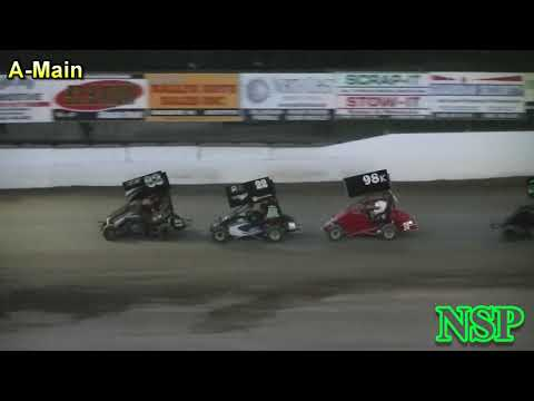 July 14, 2017 Clay Cup Nationals Kasey Kahne Jr's A-Main Deming Speedway